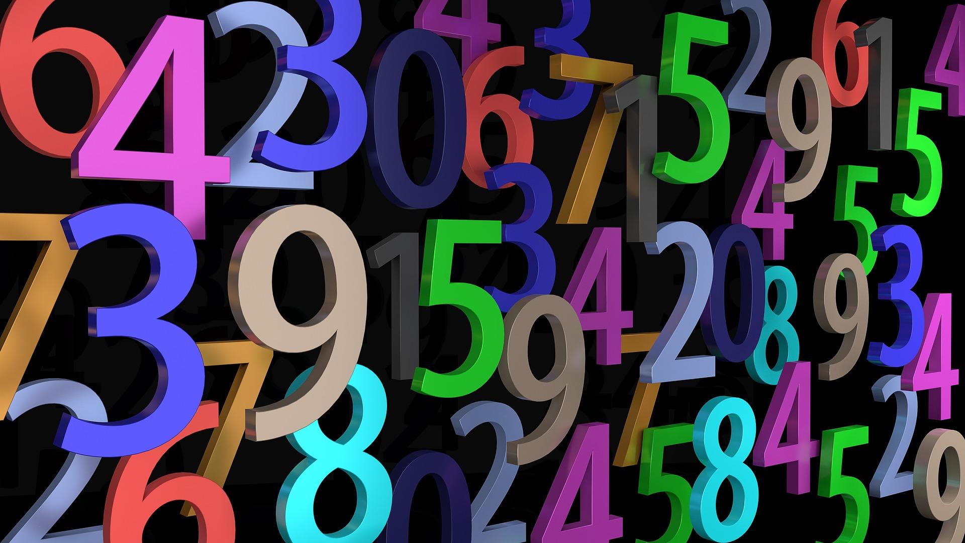 цифры в тексте